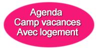 Agenda camps de vacances