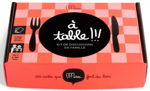 Cartes: A table!!! Kit de discussion