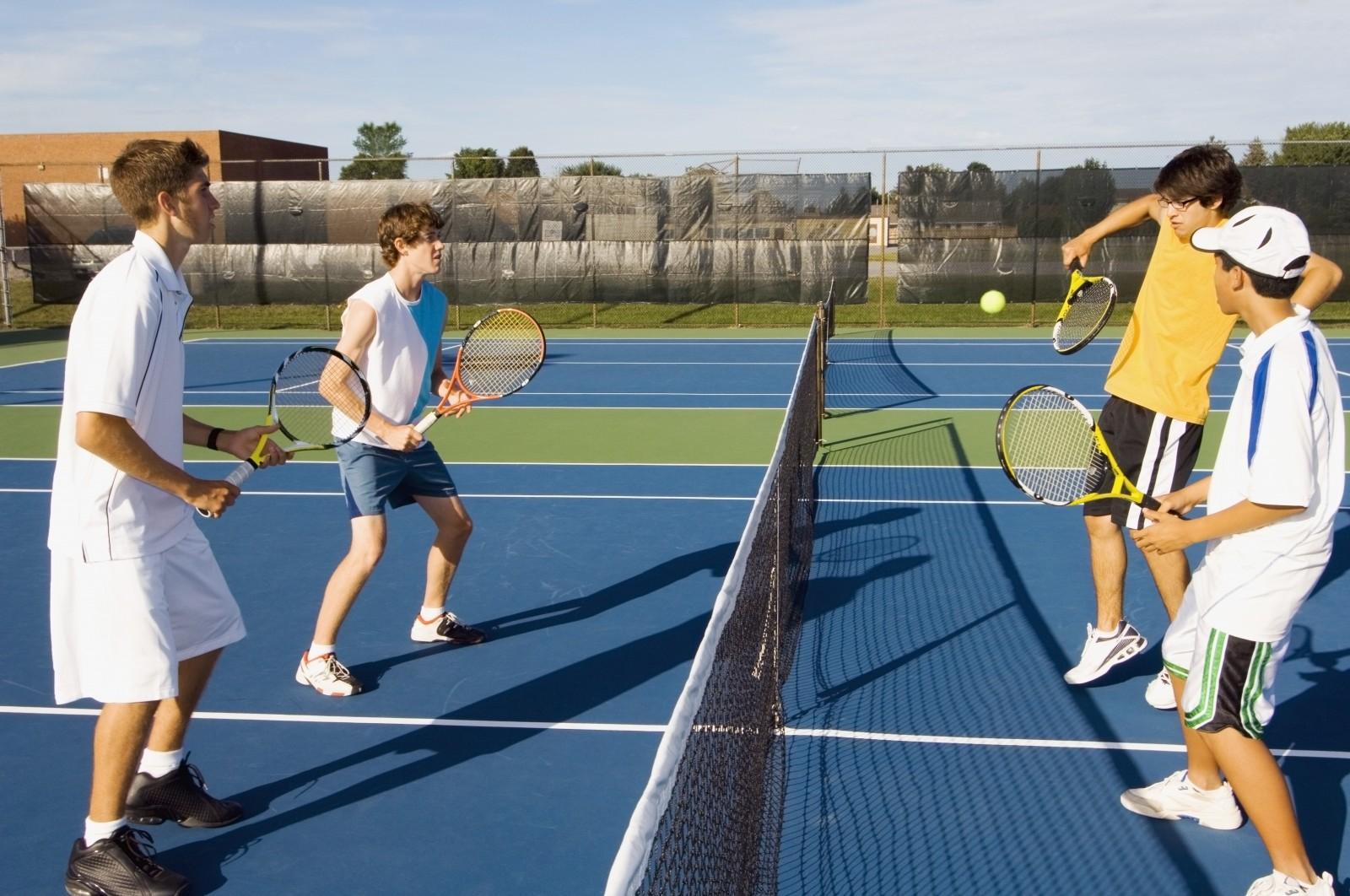 Ecole de tennis pour enfants et adultes for Un cours de tennis